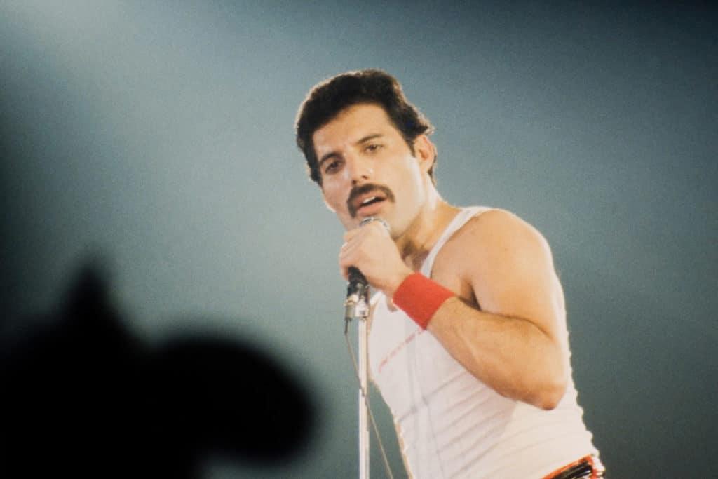 Freddy Mercury. Cantante del grupo Queen