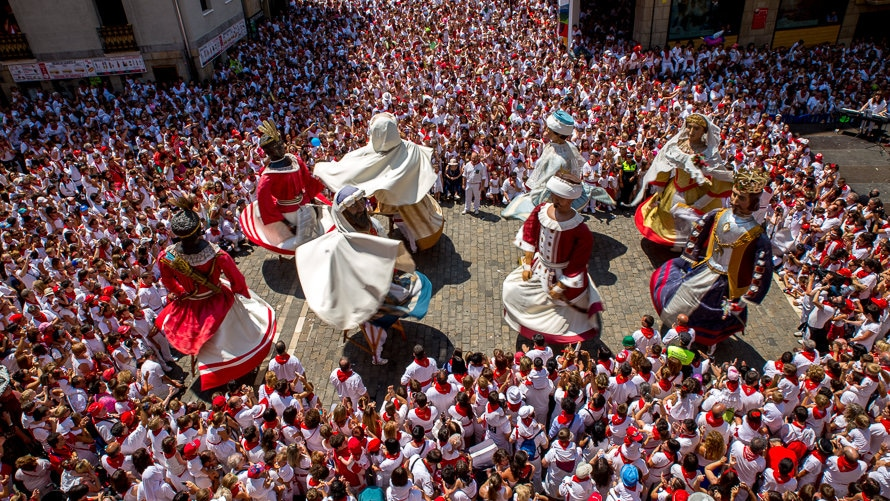 Comparsas de San Fermín