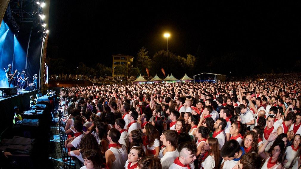 Conciertos de San Fermín
