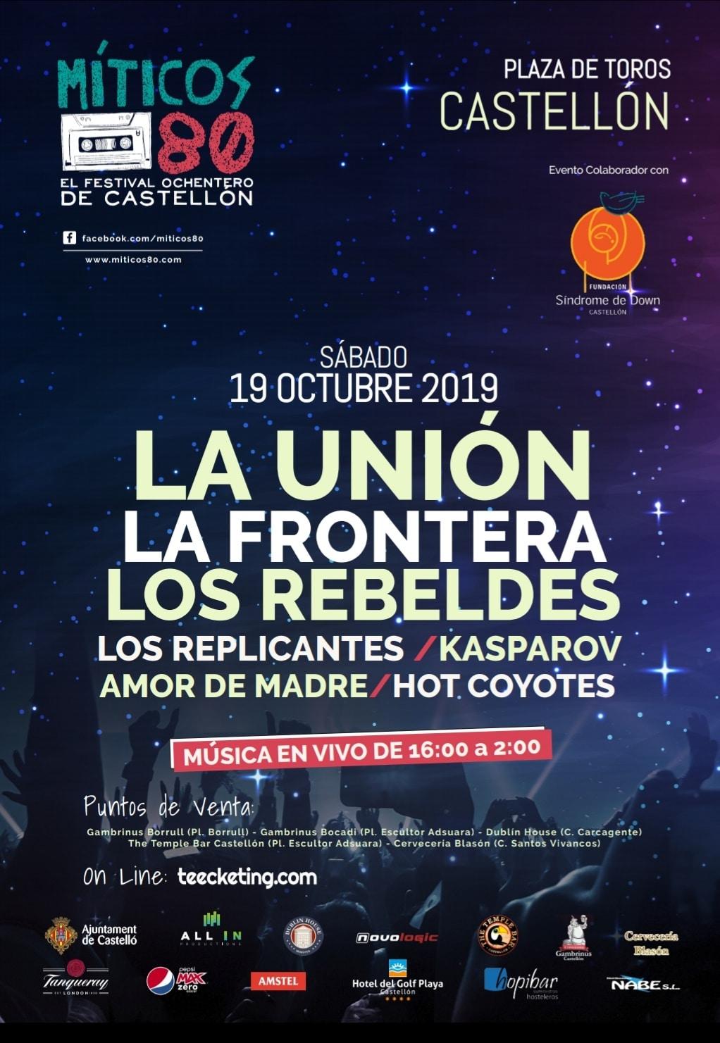 Festival Míticos 80 de Castellón