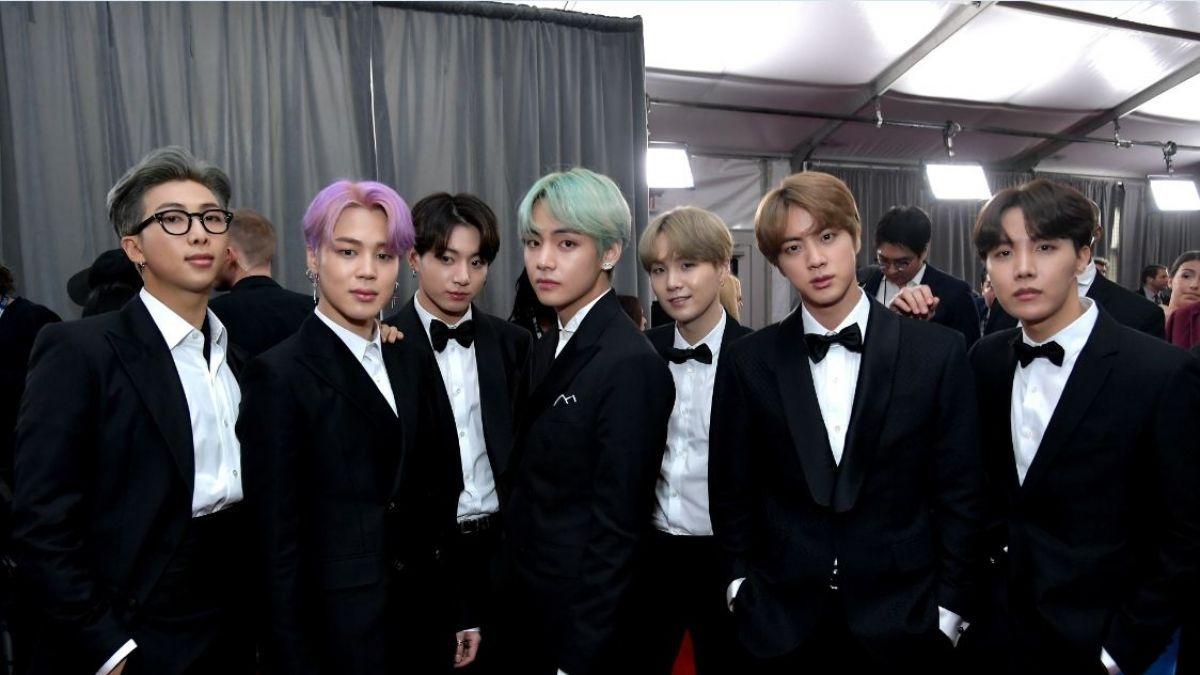 BTS grupo de k-pop