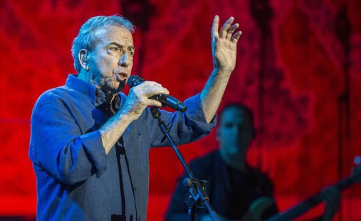José Luis Perales en concierto