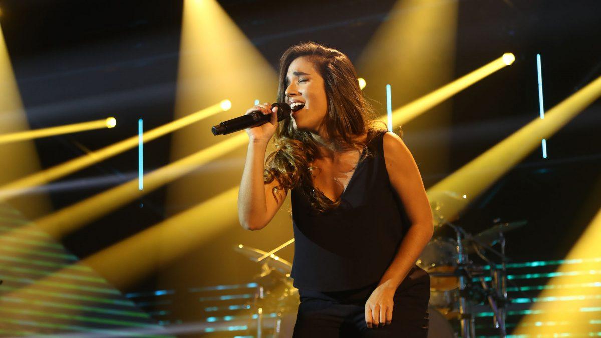 Julia Medina en concierto