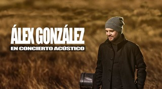 Álex González en concierto acústico - Poster