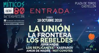 Festival Míticos Ochenta - Poster